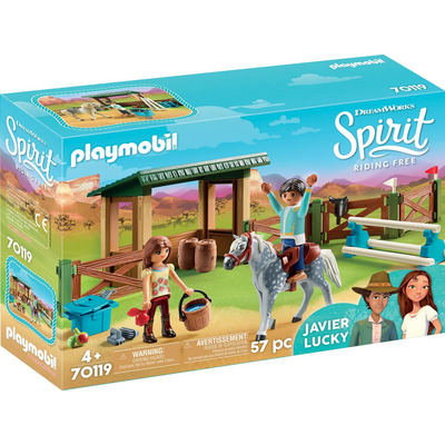 Playmobil DreamWorks Spirit Riding Arena With Lucky & Javier