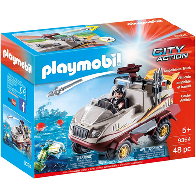 Playmobil Amphibious Truck With Underwater Motor