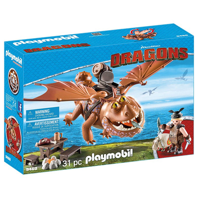 Playmobil DreamWorks Dragons Fishlegs And Meatlug