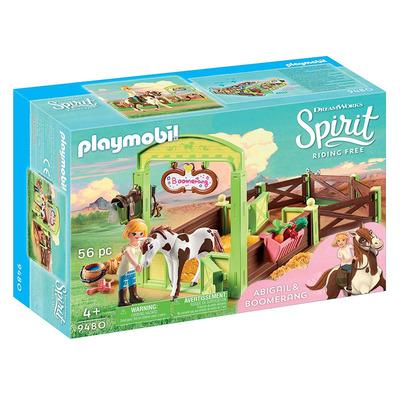 Playmobil DreamWorks Spirit Horse Box Abigail & Boomerang