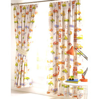 Cars and Transport Fully Lined Curtains 54