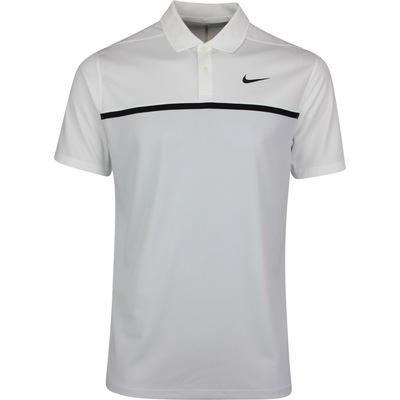 Nike Golf Shirt NK Dry Victory Colour Block White SS20