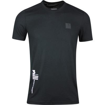 adidas Golf T Shirt Adicross Graphic Tee Black SS20