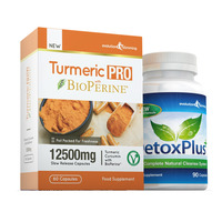 Image of Turmeric Pro with BioPerine® & DetoxPlus Combo Pack - 1 Month Supply