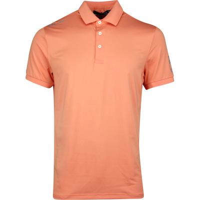 RLX Golf Shirt Solid Airflow Peach Tree SS20
