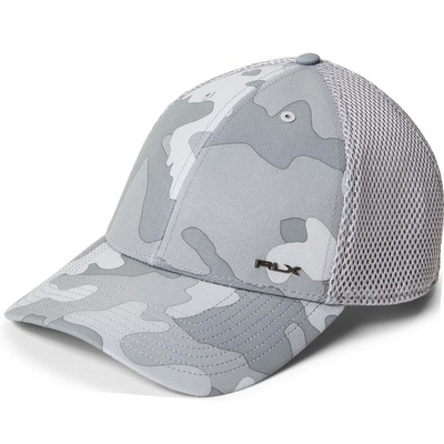 RLX Golf Cap Printed Flex Fit Grey Camo SS20