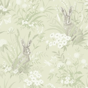 Aayla Hares Wallpaper Pale Green Holden 90881