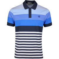 Image of G/FORE Golf Shirt - Gradient Stripe Polo - Twilight SS20