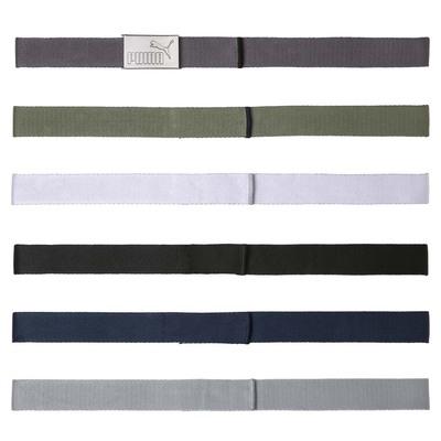 PUMA Golf Belts 6 in 1 Web Belt Pack Multi SS20