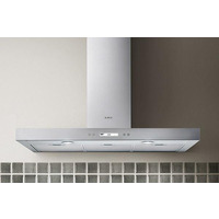 Elica Spot Plus IX/A/90 Cooker Hood, Stainless Steel