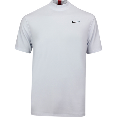 Nike Golf Shirt TW Dry Mock Neck White Platinum SU20