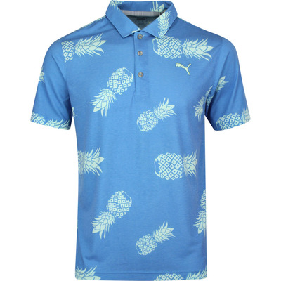 PUMA Golf Shirt Sweetness Polo Pineapple Print SS20