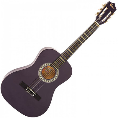 3/4 Size Classical Guitar Pack Purple