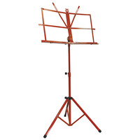 Folding Music Stand - Red