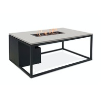 Pacific Lifestyle &pipe; Cosiloft 120 Coffee Table & Fire Pit - Black and Grey