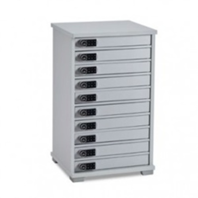LapCabby Lyte Multi Mini 10 Station Charger Cabinet