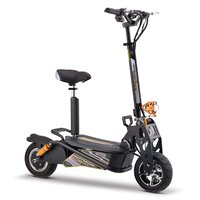 Image of Chaos GT1600 Sport 48v Lithium Hub Drive Black Adult Electric Scooter