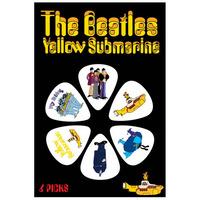 Beatles Yellow Submarine Picks - White