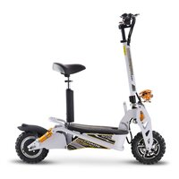 Image of Chaos GT1600 Sport 48v Lithium Hub Drive Off Road White Adult Electric Scooter