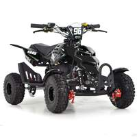 Image of FunBikes 49cc Black Kids Mini Quad Bike