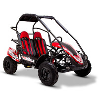 FunBikes GT80 Trail Blazer 200cc Red Midi Off Road Buggy
