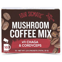 Four-Sigmatic-Mushroom-Coffee-Mix-with-Chaga-and-Cordyceps-10-Packets