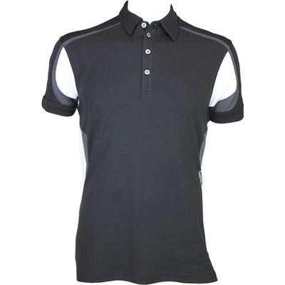 Galvin Green Milton Golf Shirt Black AW15