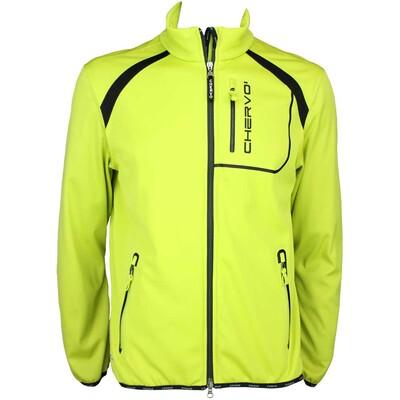 Cherv242 Mirandola Wind Lock Golf Jacket Lime Green AW15