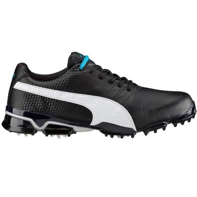 Puma TitanTour Ignite Golf Shoes Black White AW16