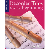 Image of Recorder Trios From The Beginning Pupil