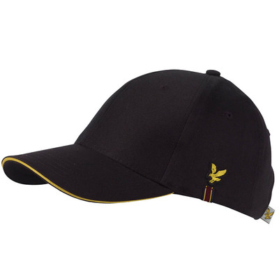 Lyle Scott Golf Cap Buchanan Tour Black SS17