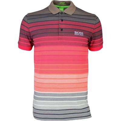 Hugo Boss Golf Shirt Paddy Pro 1 Rococco Red SP16