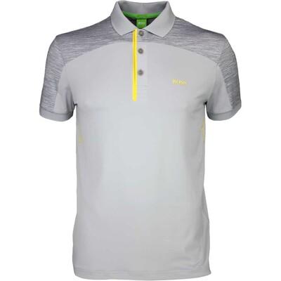 Hugo Boss Golf Shirt Pavotech Grey Melange SP16