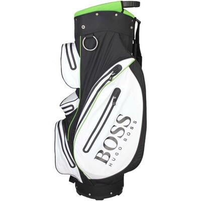 Hugo Boss Golf Cart Bag White Black Green FA17