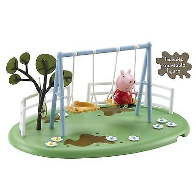 Peppa Pig Muddy Puddles Playgound Set   Swing