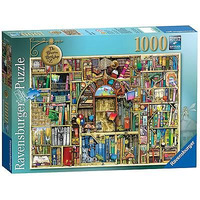 Image of Ravensburger Colin Thompson - The Bizarre Bookshop 2, 1000pc Jigsaw Puzzle