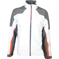 Galvin Green Waterproof Golf Jacket - ARROW White
