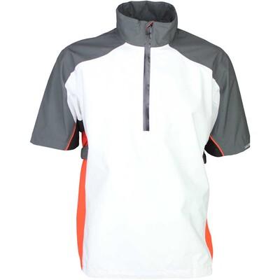 Galvin Green Waterproof Golf Jacket ALPHA White