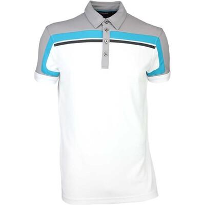 Galvin Green Golf Shirt MACOY Ventil8 Steel Grey SS16
