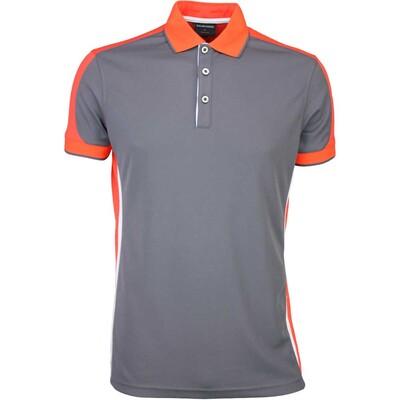 Galvin Green Golf Shirt MOE Iron Grey SS16