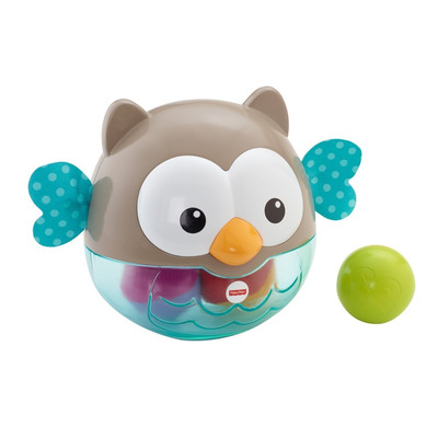Fisher-price 2-in-1 Activity Chime Ball - Bat and Roll Owl