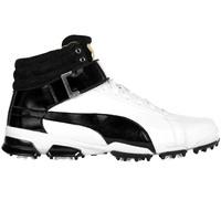 Puma Golf Shoes - TitanTour Ignite Hi-Top SE - White - Black
