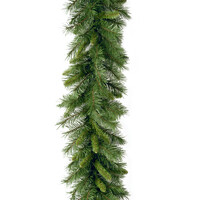 Windsor Pine Christmas Garland with 200 Tips - 9ft