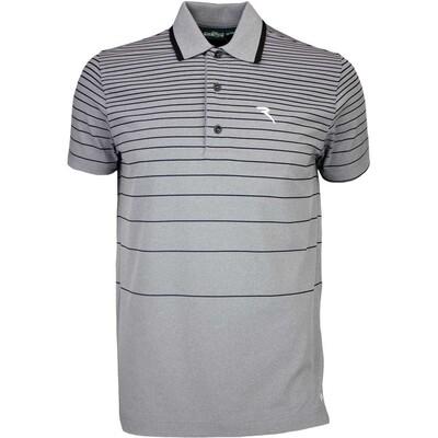 Cherv242 Golf Shirt ALLUVIONE Grey Black SS16