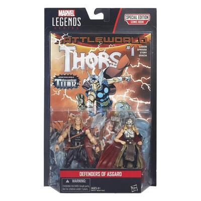 Marvel Legends Series Comic 2-Pack Defenders Of Asgard