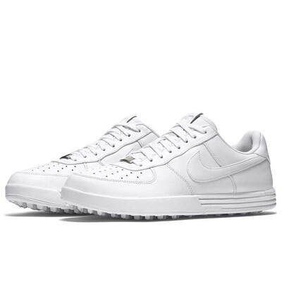 Nike Golf Shoes Lunar Force 1 G White