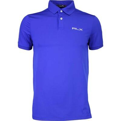 RLX Golf Shirt Solid Airflow Heritage Royal AW16