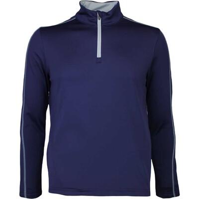 Puma Golf Pullover Core Fleece Zip Peacoat AW16