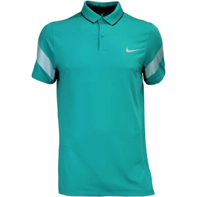 Nike Golf Shirt MM Fly Framing Commander Teal Charge AW16