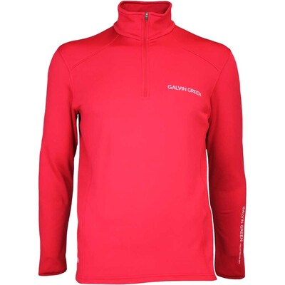 Galvin Green Golf Pullover DWAYNE Tour Insula Electric Red AW16